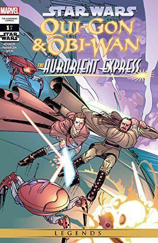 Qui-Gon & Obi-Wan: The Aurorient Express #1