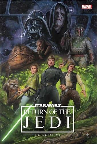 Episode VI: Return of the Jedi (Hardcover) (Remastered) (1983)