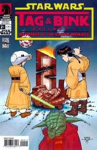 Tag & Bink: Revenge of the Clone Menace