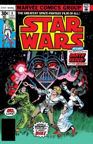 Star Wars (1977) #04: In Battle with Darth Vader