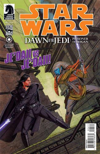Dawn of the Jedi: The Prisoner of Bogan #4