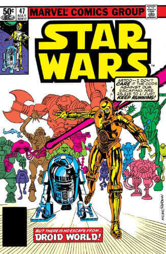 Star Wars (1977) #47: Droid World