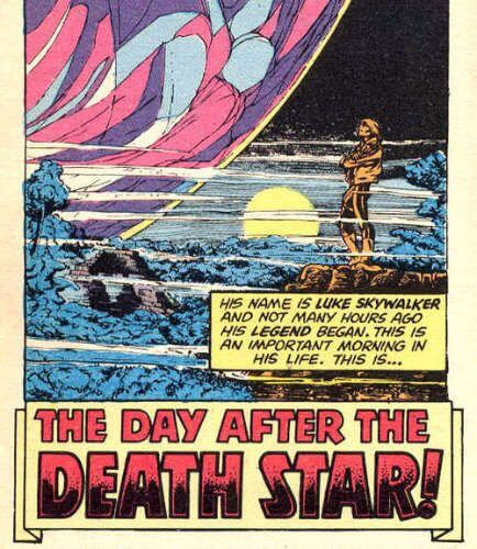 The Day after the Death Star!