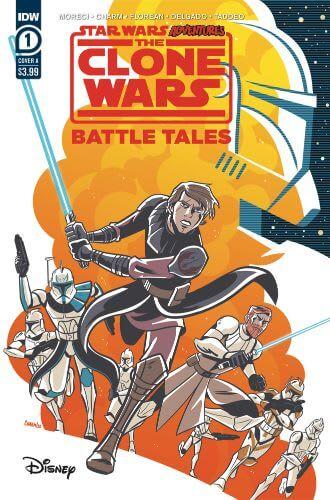 Star Wars Adventures: The Clone Wars: Battle Tales #1