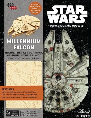 Millennium Falcon Deluxe Book and Model Set