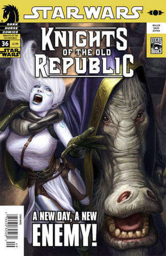 Knights of the Old Republic #36: Prophet Motive, Part 1