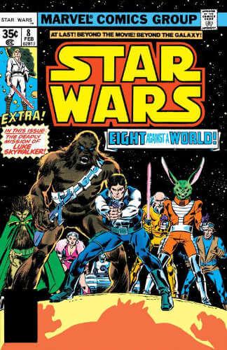 Star Wars (1977) #08: Eight for Aduba-3