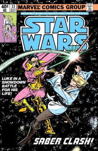 Star Wars (1977) #33: Saber Clash