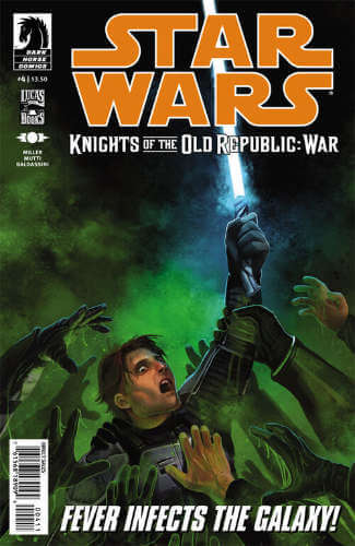 Knights of the Old Republic: War #4
