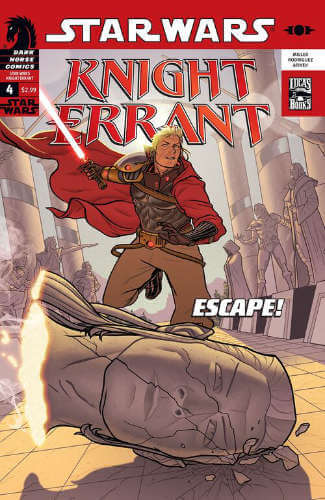 Knight Errant: Aflame #4