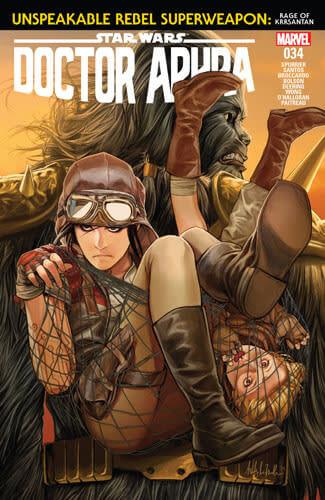 Doctor Aphra (2016) #34: Unspeakable Rebel Superweapon, Part III