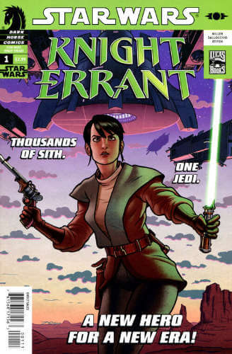 Knight Errant: Aflame #1
