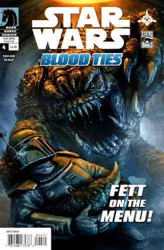 Blood Ties: A Tale of Jango and Boba Fett #4