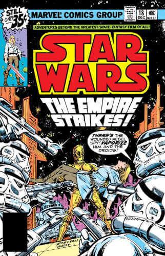 Star Wars (1977) #18: The Empire Strikes