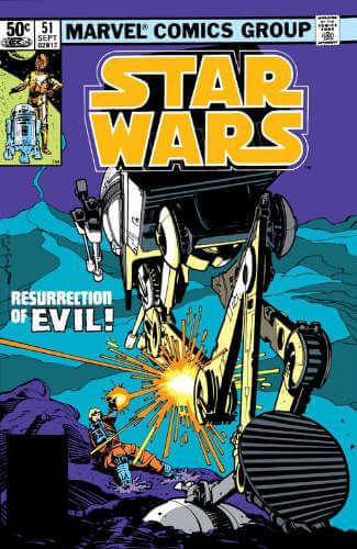 Star Wars (1977) #51: Resurrection of Evil