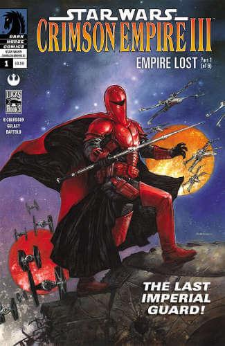 Crimson Empire III: Empire Lost #1