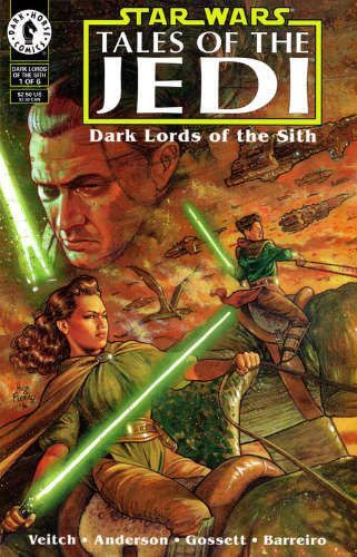 Tales of the Jedi: Dark Lords of the Sith #1: Masters and Students of the Force