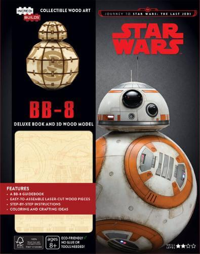 BB-8 Deluxe Book and 3D Wood Model