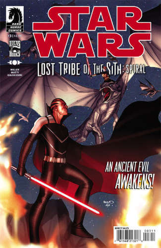 Lost Tribe of the Sith: Spiral #3