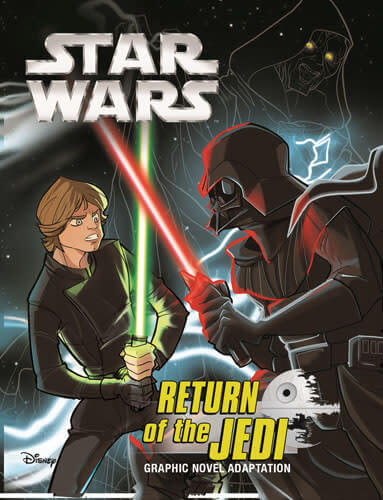 Return of the Jedi Graphic Novel Adaptation