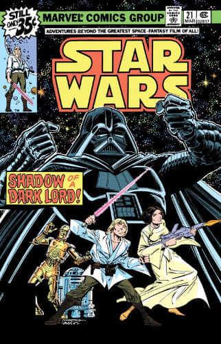 Star Wars (1977) #21: Shadow of a Dark Lord