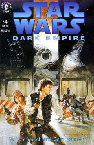 Dark Empire #4: Confrontation on the Smugglers' Moon