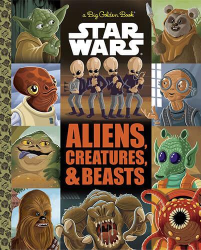 Aliens, Creatures & Beasts (Big Golden Book)