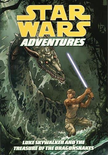 Star Wars Adventures: Luke Skywalker And The Treasure Of The Dragonsnake