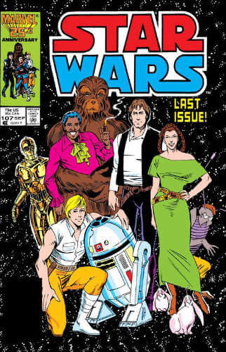 Star Wars (1977) #107: All Together Now