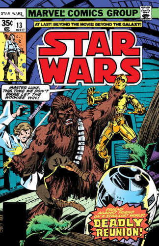 Star Wars (1977) #13: Day of the Dragon Lords!