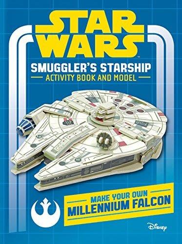 Smuggler's Starship Activity Book and Model