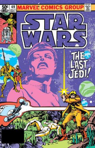Star Wars (1977) #49: The Last Jedi