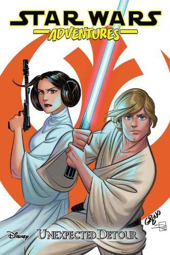 Star Wars Adventures (2017) Vol. 02: Unexpected Detour (Trade Paperback)
