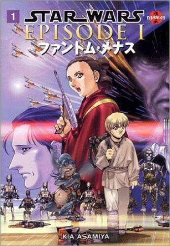Star Wars Manga: The Phantom Menace #1