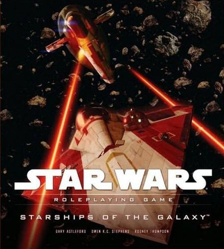 Star Wars Roleplaying Game: Starships Of The Galaxy (Saga Edition)