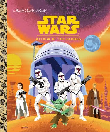Attack of the Clones (Golden Book)