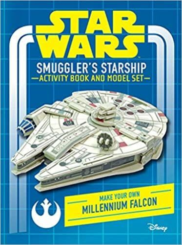 Smuggler's Starship Activity Book and Model: Make Your Own Millennium Falcon