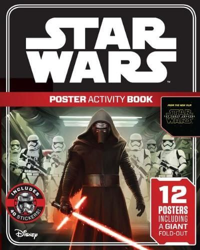The Force Awakens Poster Activity Book