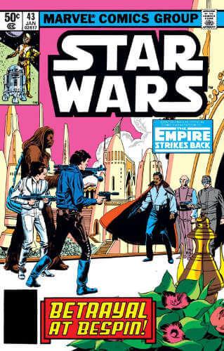 Star Wars (1977) #43: The Empire Strikes Back: Betrayal at Bespin