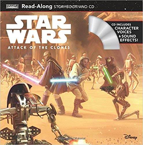 Attack of the Clones Read-Along Storybook