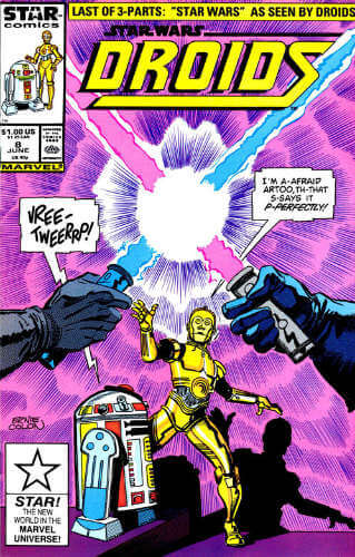 Star Wars Droids #8: Star Wars According to the Droids, Book III