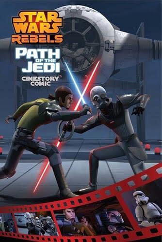 Rebels: Path Of The Jedi (cinestory comic)