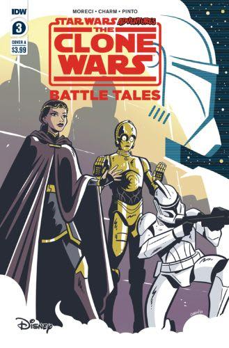 Star Wars Adventures: The Clone Wars: Battle Tales #3