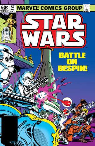 Star Wars (1977) #57: Hello, Bespin, Good-bye!