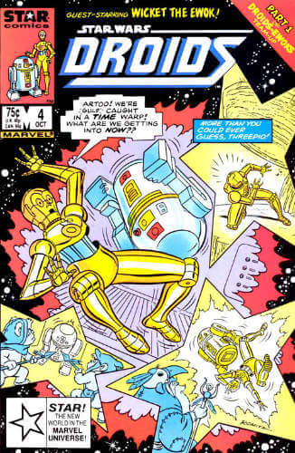 Star Wars Droids #4: Lost in Time