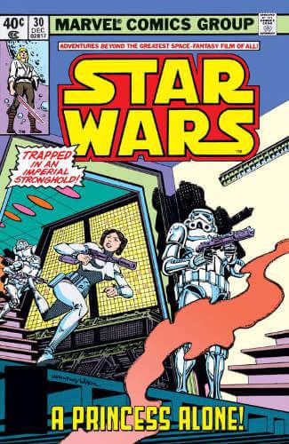 Star Wars (1977) #30: A Princess Alone
