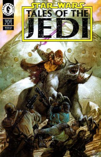Tales of the Jedi #2: Ulic Qel-Droma and the Beast Wars of Onderon, Part 2
