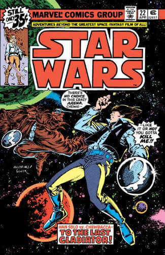 Star Wars (1977) #22: To the Last Gladiator