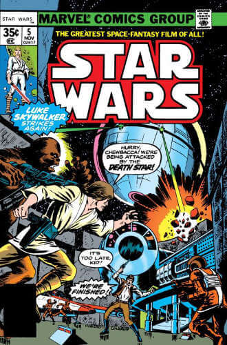 Star Wars (1977) #05: Lo, The Moons of Yavin!