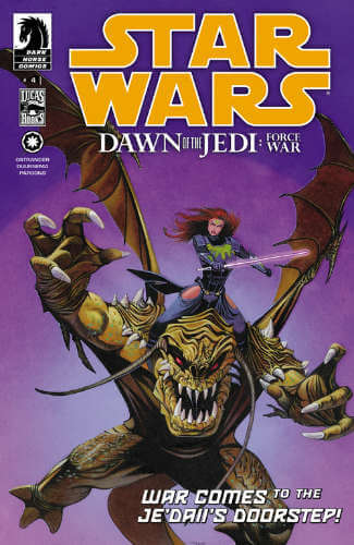 Dawn of the Jedi: Force War #4